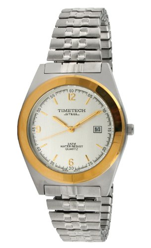 Sub Mariner Date Watch (Timetech Steel 3600M Men's Two-Tone Expansion Watch)