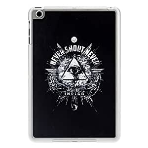 Buy Eye in Triangle Pattern PC Hard Case with Transparent Frame for iPad mini