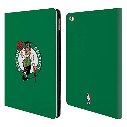 Official NBA Plain Boston Celtics Leather Book Wallet Case Cover For iPad Air 2 (2014) (Boston Celtics Snap)