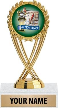 Crown Awards Perfect Attendance Trophy