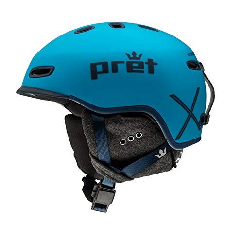 Pret 2019 Cynic X Ski Snow Helmet - Signature Blue & Medium