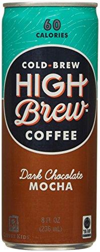 High Brew Coffee Dark Chocolate Mocha - 8 oz - 12 Pack