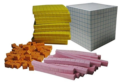 Eva Base - Wisetime EVA Foam Base Ten Block & Cardboard Cube, 131 Pcs. Dience Block, Starter Kit