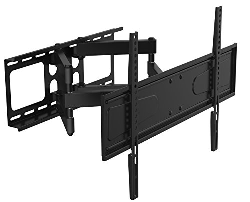 Husky Mounts Dual Arm Full Motion TV Wall Mount. Tilt Swivel