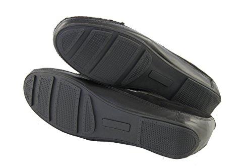 Braccialini Damenschuhe Shoe Slipper Loafers 220CN schwarz