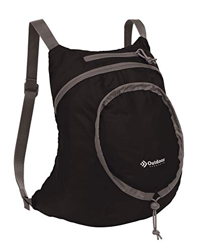 Outdoor Products Packable Daypack, 14.9-Liter, Black