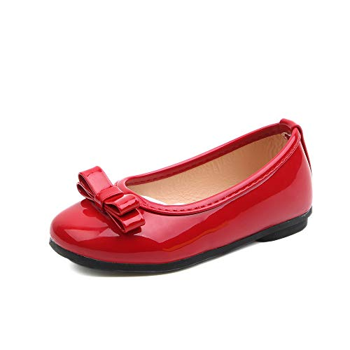 Komfyea(R-35/2.5 Girls Pure Simple Series Flat Shoes