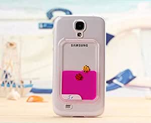 Freely Swimming Fishes Liquid Movable Hard Case Shell For Samsung Galaxy S4