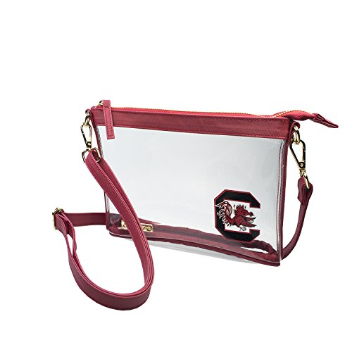 Purse South Gamecocks Carolina (Clear Small Crossbody - University of South Carolina South Carolina Gamecocks Clear Purse)