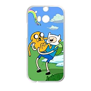 HTC One M8 Phone Case Cartoon Adventure Time Protective Cell Phone Cases Cover DFH099488