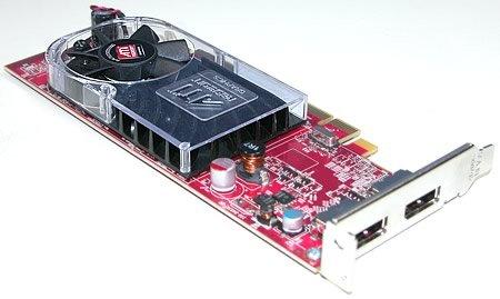 DELL ATI Radeon HD 3470 256 MB Grafikkarte, Dual-Head-DVI-Anschluss, halbhohe Niedrigprofilkarte für SFF-PCs , Dell-TKZ: C120D