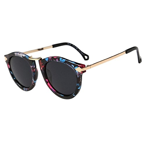 Vintage Color lunettes Glasses Hommes 01 Été Mode soleil de Reaso Retro Unisex Femmes gFIxn4ZqZ