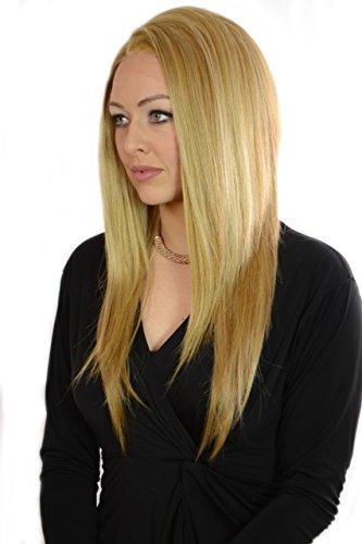 Golden Blonde Hair Wig - 8