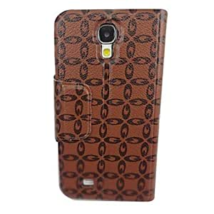 GOG-The Diamond Design Graphics Pattern PU Leather Full Body Case with Stand for Samsung S4/I9500
