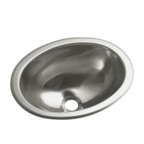 Sterling 11811-0 Oval Single Basin Self-Rimming/Undermount Entertainment (Oval Countertop Lavatory Sink)