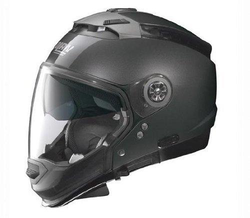 Nolan N44 Trilogy Solid Helmet (Lava Gray, XX-Large)