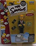 The Simpsons World of Springfield Series 1 Montgomery Burns Figure