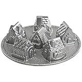 Nordic Ware Platinum Cozy Village Baking Pan