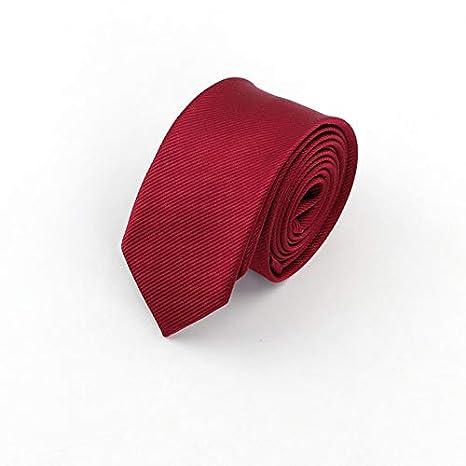 RENZHEN Hombre Sólido Corbatas Clásicas Formal Rayas Negocio 6 cm ...