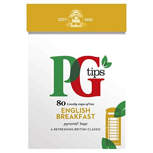 PG Tips English Breakfast Pyramid Teabags,