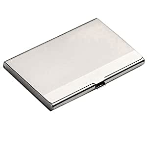 Tapp C. Business Name Card Holder Stainless Steel Case