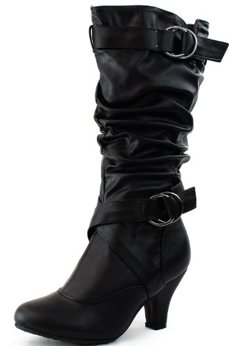 Wild Diva Women's Lala-02 Fashionable Sexy Boot