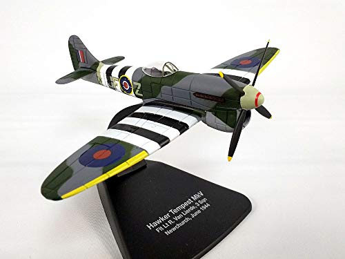 Hawker Tempest British Fighter 1/72 Scale Diecast Metal - Scale Oxford