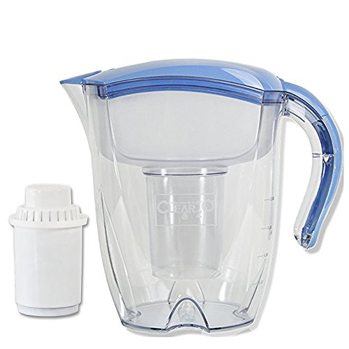 Clear2o Mineral Rich Alkaline Pitcher, Blue - Clear2o Water