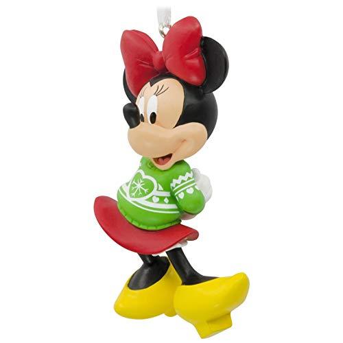 Hallmark Disney Minnie Mouse Christmas Sweater Ornament ()