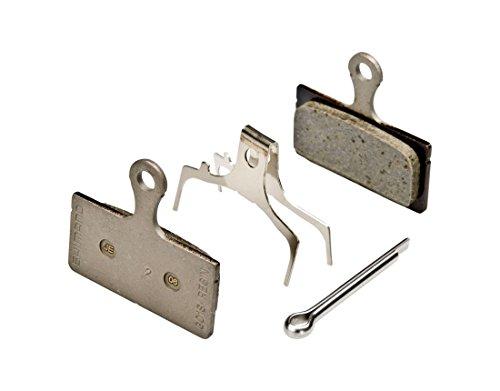 2 Pairs Shimano Disc Brake Pads & Spring G01S (Resin)