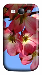 fancy covers tropical flowers PC case/cover for Samsung Galaxy S3 I9300