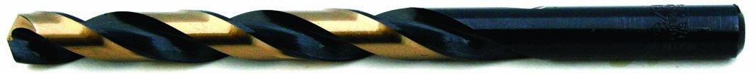 Champion Cutting Tool Heavy Duty BlackGold Jobber Drill Bits, 135 Degree Split Point: XGO-1/4 (12 pieces per pack)-MADE IN USA by Champion Cutting Tool Corp