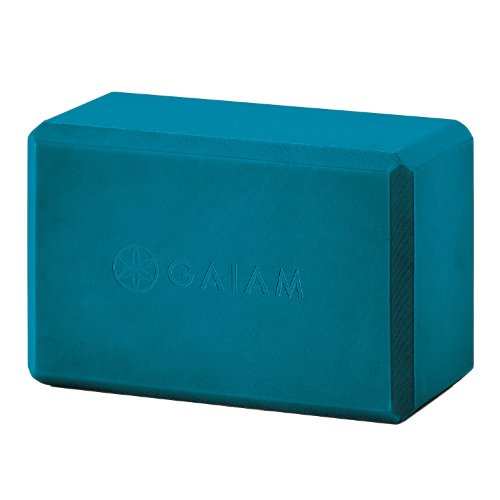 Gaiam Yoga Block, Blue Teal