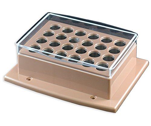 アズワン2-4963-14クールホットブロックバス用ブロックφ15mm試験管24本用 B07BD2SB1D