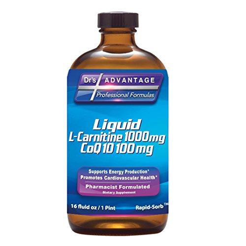 Drs Advantage Liquid L-carnitine Nutritional Supplement, 16 Ounce