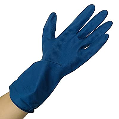 UltraSource Ambidextrous Latex Gloves, Thick, 12 mil, Natural Color (Pack of 24)