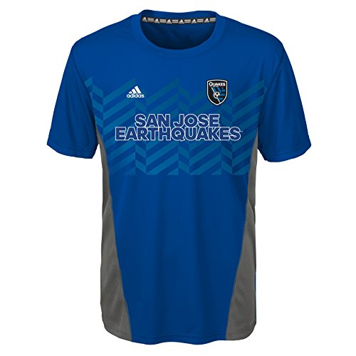 fan products of MLS San Jose Earthquakes BoysShort Sleeve Fan Nation Tee, Collegiate Royal, Medium (10-12)