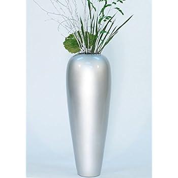 Amazoncom GreenFloralCrafts Bamboo Cylinder Floor Vase - Cylinder floor vase silver