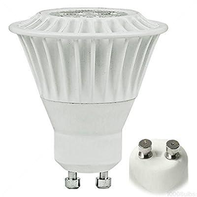 TCP 50W Equal 2400K MR16 GU10 LED Light Bulb - 7W 82 CRI 40 Deg. Flood - 7MR16GU1024KFL