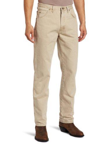 Wrangler Men's Big & Tall Rugged Wear Classic Fit Jean, Sand, 52W x 30L