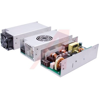 XP Power MHP650PS28-EF Power Supply AC-DC 28V@23A 5V@0.2A 90-264V In Enclosed 645W Panel MHP Series