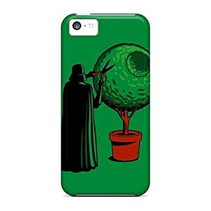 linJUN FENGSnap-on Gardening Vader Case Cover Skin Compatible With ipod touch 5