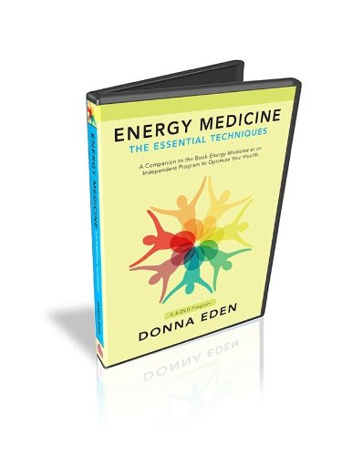 Energy Medicine Essential Techniques 3-DVD Program by Donna Eden, for Better Immunity, Circulation and Respiratory Support, Learn Chakras, Meridians, Auroa, Radiant Circuits, Five Elements