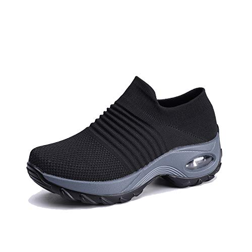 Mesh Walking Shoes Slip on