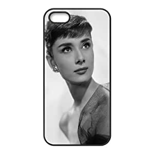 Wholesale Cheap Phone Case For Iphone 5c -Famous Singer Audrey Hepburn Pattern Design-LingYan Store Case 1