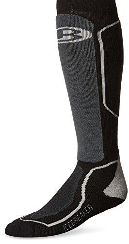 595722c9e3 Galleon - Icebreaker Men's Ski+id OTC Socks (Black/Oil/Silver, Small)