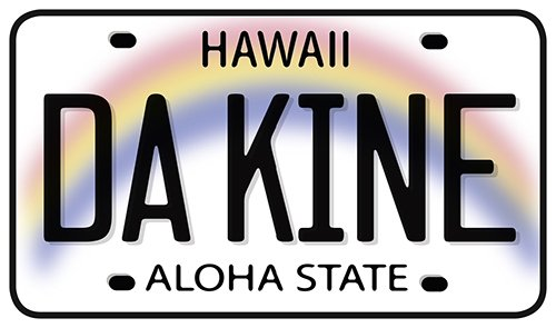 Used, Hawaiian Art Decal - Car Window Bumper Sticker - Da for sale  Delivered anywhere in Canada