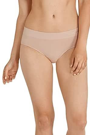 Bonds Women's Underwear Cotton Rich Comfytails Side Seamfree Midi Brief, Base Blush, 8