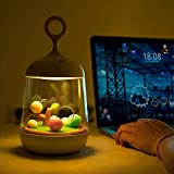 Night Light for Kids,Decorative Light with Music Box Night Lamp with 7 Color Changing Modes Best Gifts for Kids (White)