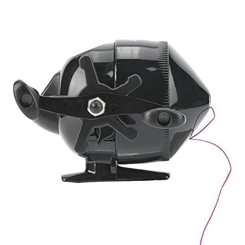 Aeloa Multi-Function Fishing Wheel, Durable Fish Reel Slingshot Shooting for Compound Bow (Black)